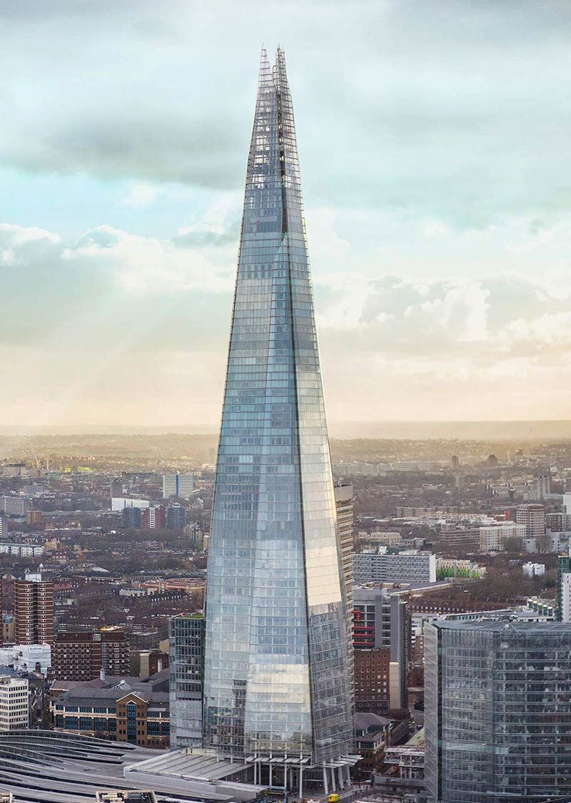 the shard 13 minute walk
