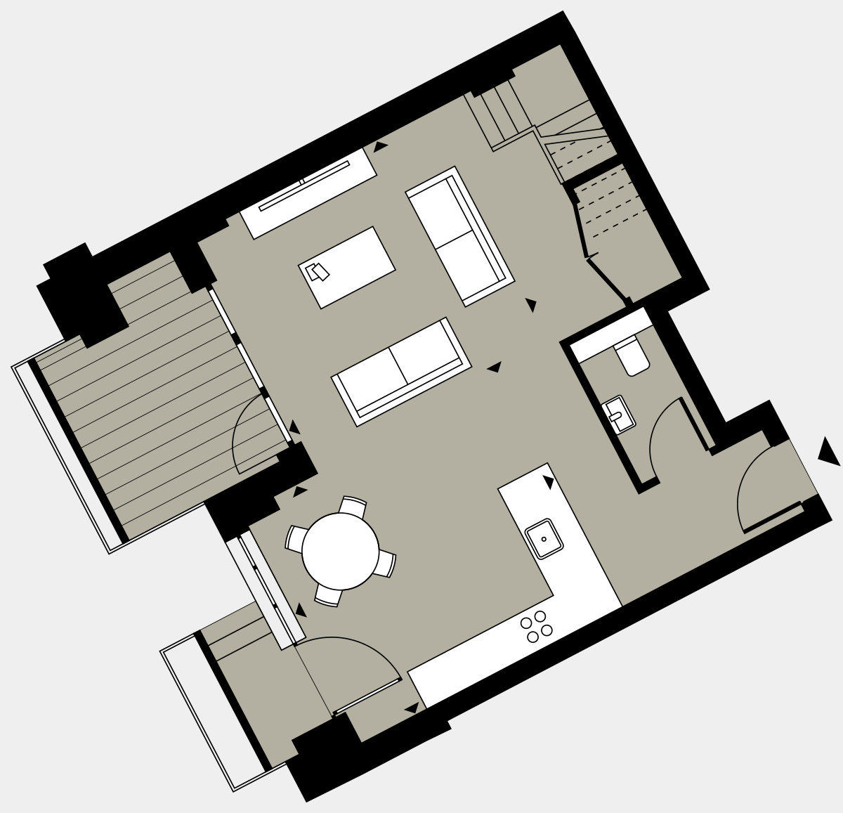 Brigade Court London SE1 Apartment floorplan - L0 11 Sawyer Street