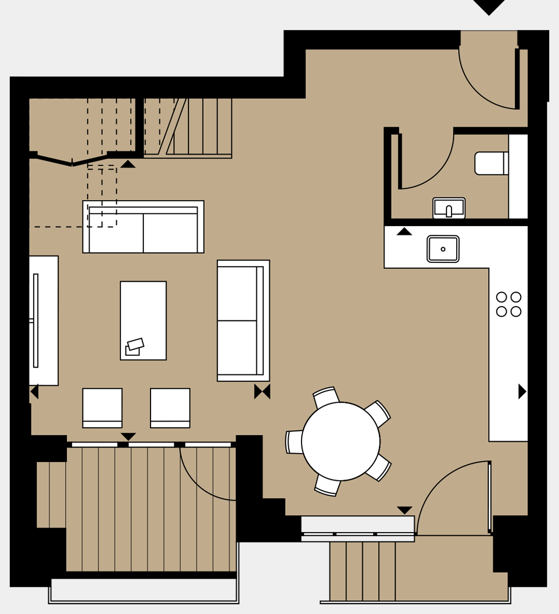 Brigade Court London SE1 Apartment floorplan - L0 19 Sawyer Street