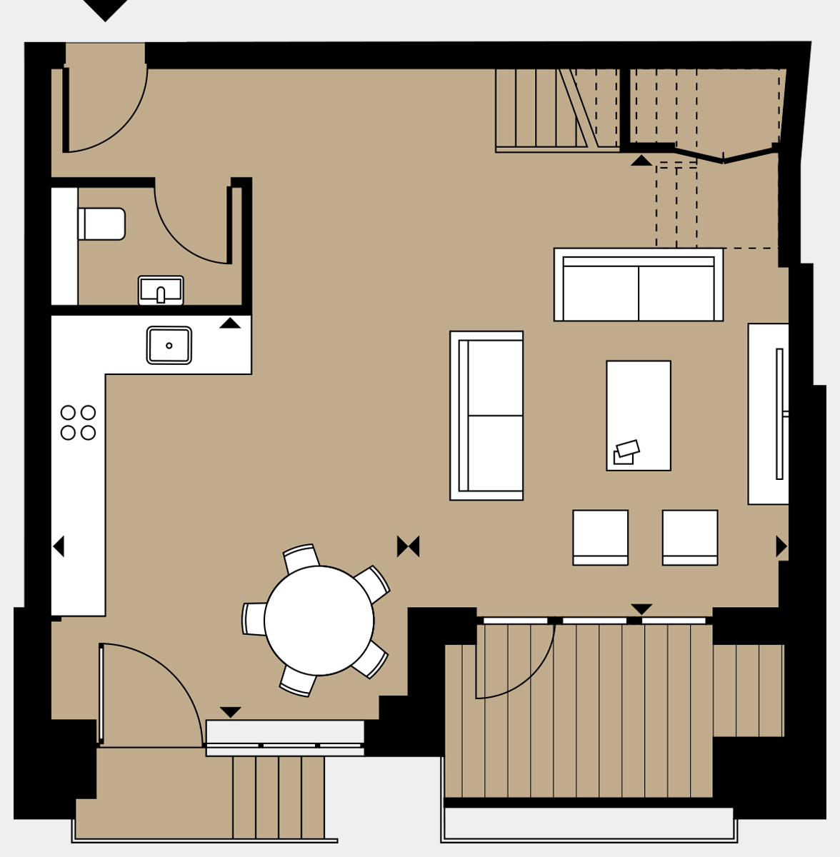 Brigade Court London SE1 Apartment floorplan - L0 23 Sawyer Street