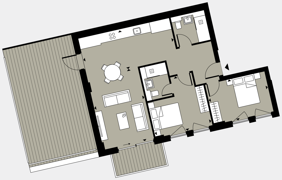 Brigade Court London SE1 Apartment floorplan - L2 5 Cuthbert House