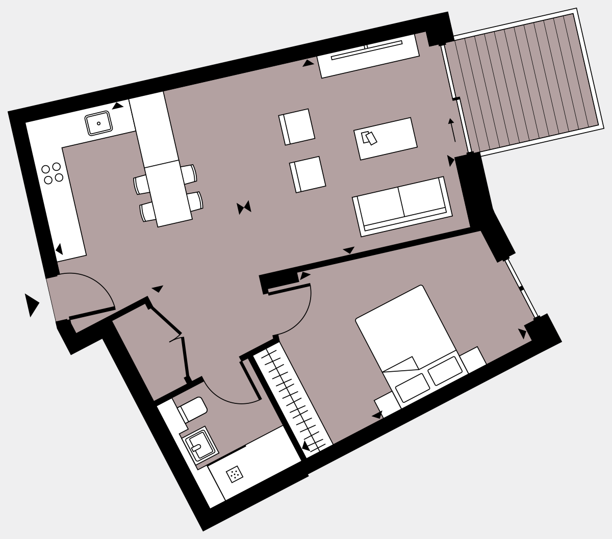 Brigade Court London SE1 Apartment floorplan - L5 28 Walton-Clark-House