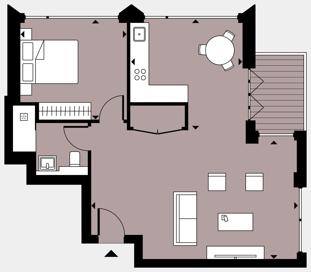 Brigade Court London SE1 Apartment floorplan - L9 87 Errington House
