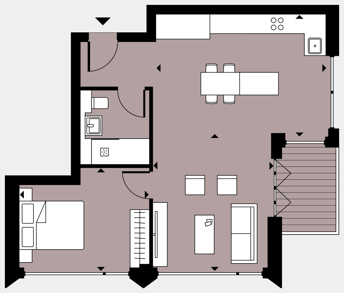 Brigade Court London SE1 Apartment floorplan - L9 88 Errington House