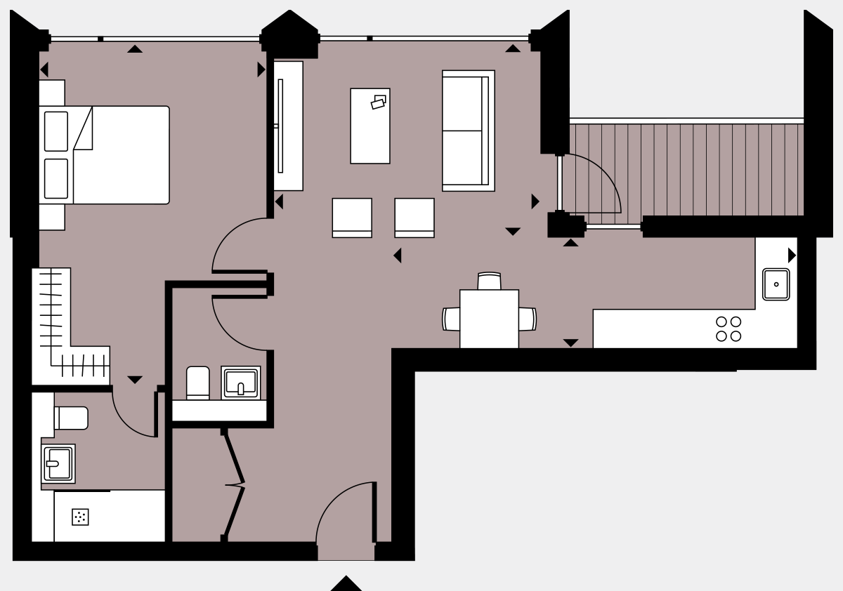 Brigade Court London SE1 Apartment floorplan - L9 92 Errington House