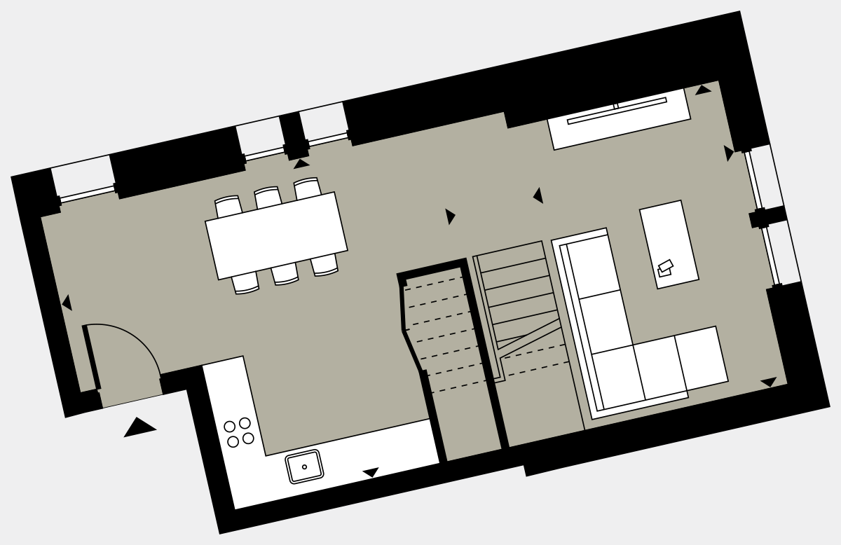 Brigade Court London SE1 Apartment floorplan - L3 23 Davies House